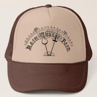 Bra hatt för fjäll för vädervintagebarometer keps