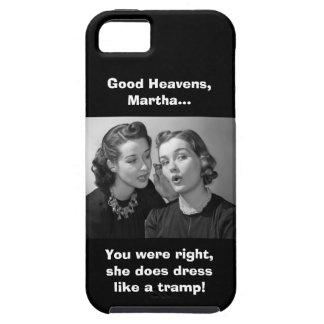 Bra himmlar, Martha! - Ren version Tough iPhone 5 Fodral