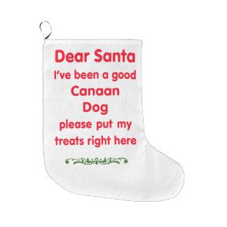 bra Kanaan hund Stor Julstrumpa