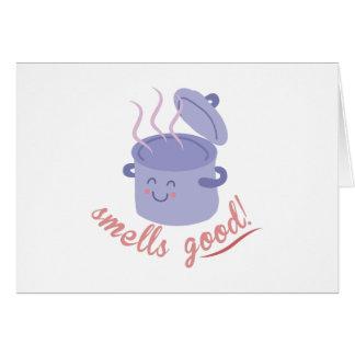 Bra lukter hälsningskort