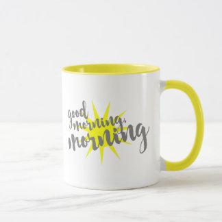 Bra morgon morgon mugg