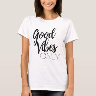 Bra svart för Vibes endast Tee Shirt