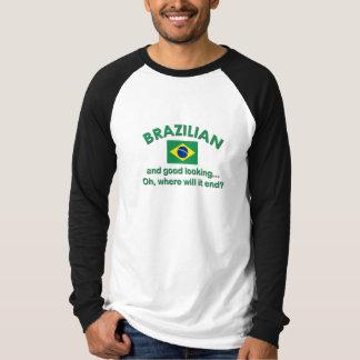 Bra tittar brasilian tee