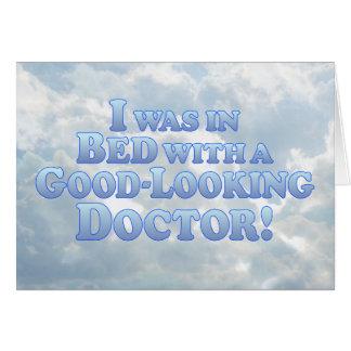 Bra tittar doktor - Mult-Produkter Hälsningskort