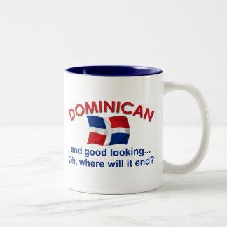 Bra tittar dominikan Två-Tonad mugg