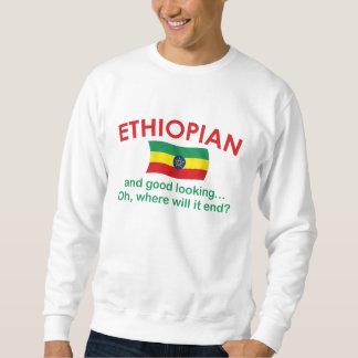 Bra tittar etiopier lång ärmad tröja