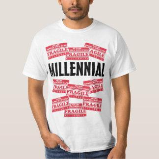 Bräckligt Millennial, handtag med omsorg T Shirt