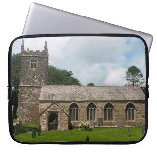 Braddock kyrkliga Cornwall England Laptop Sleeve