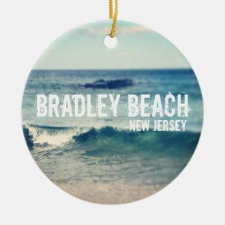 Bradley strand 2013 - återställning på den Jersey Julgransprydnad Keramik