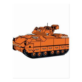 Bradley tank vykort