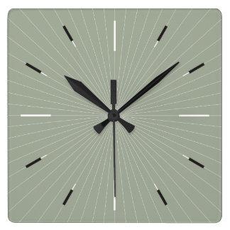BRAN FODRAR | enkelt elegantt modernt Fyrkantig Klocka