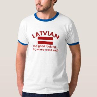 Bran tittar lettiskt tee shirt