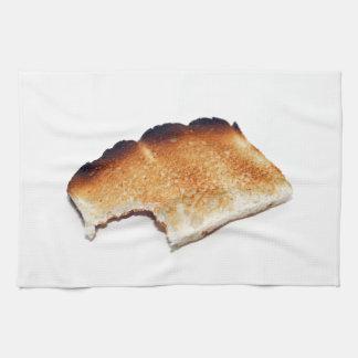 Bränd handduk för rostat brödkökmaträtt kökshandduk