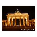 Brandenburg grind, Berlin Vykort