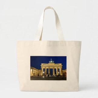Brandenburg grind i Berlin, Tyskland Jumbo Tygkasse