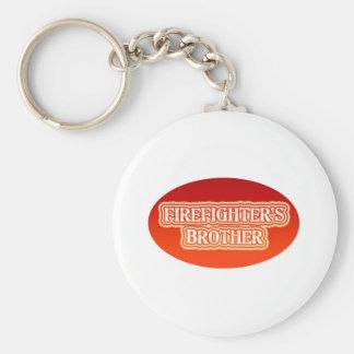 Brandman broder rund nyckelring