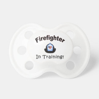 Brandman i utbildning napp