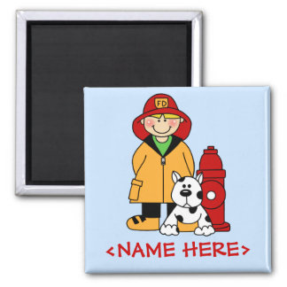 Brandman (pojke) magnet