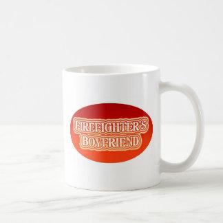 Brandman pojkvän kaffemugg
