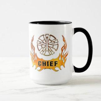 Brandmanchefen flammar