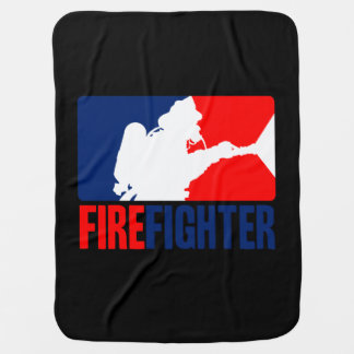 Brandmanhuvudattraktionen i Tri-färger Bebisfilt