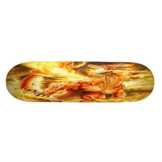 Brännhet fantasidrake skateboard bräda 20,5 cm