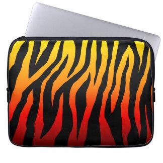 Brännhet zebror för mod laptopskydd