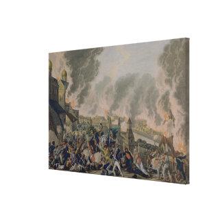 Bränningen av Moscow, 15th September 1812, 1813 Canvastryck