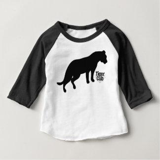 Brännmärkt svart tee shirts