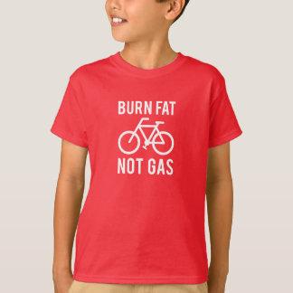 brännskadatjock, att inte gasa t-shirt
