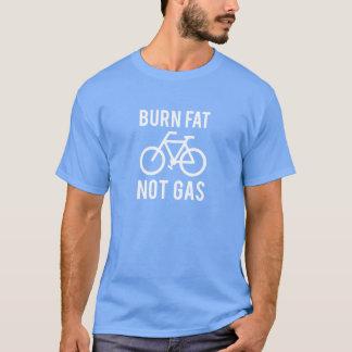 brännskadatjock, att inte gasa t-shirts