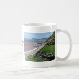 Branscombe strand vit mugg