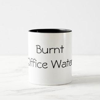 Bränt kontorsvatten Två-Tonad mugg