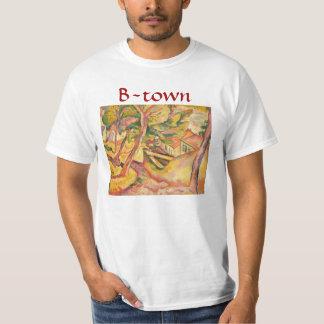 Braque Town i gult T-shirt