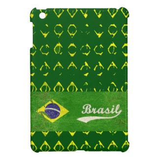 brasil flaggamönster iPad mini mobil skydd