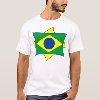 Brasil flaggaskjorta tee shirts