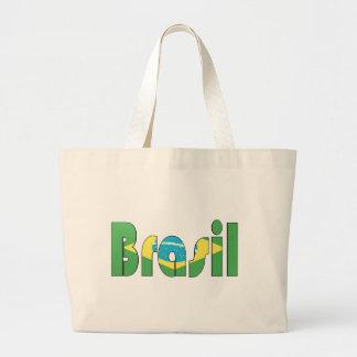 Brasil flaggaT-tröja Tygkassar