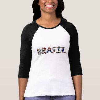 Brasil fotboll tee