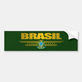 """Brasil guld "", Bildekal"