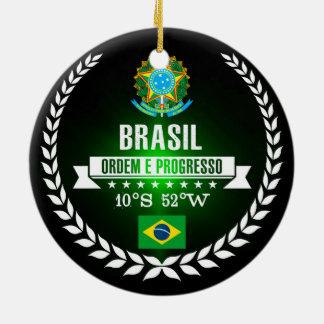 Brasil Julgransprydnad Keramik