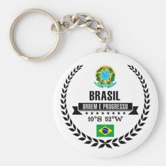 Brasil Rund Nyckelring