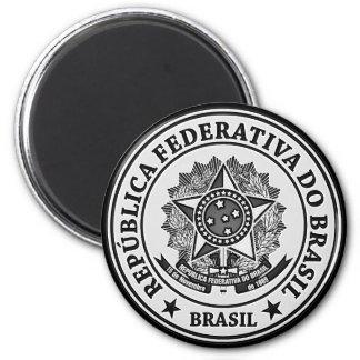 Brasil rundaEmblem Magnet