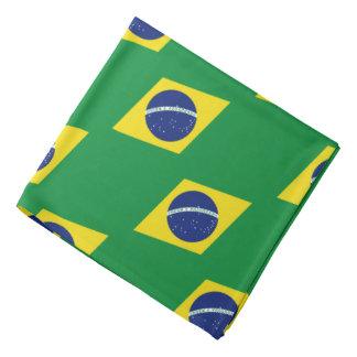 Brasilian färger för flaggabandana | av Brasil Scarf