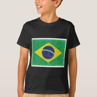 Brasilian för Brasilien flagga*Hand-sketch* T-shirt