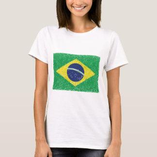 Brasilian för Brasilien flagga*Hand-sketch* T Shirts