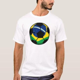 Brasiliansk flaggafotboll t shirts