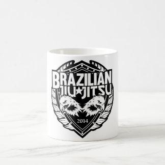 Brasiliansk Jiu Jitsu anpassadeEmblem Kaffemugg