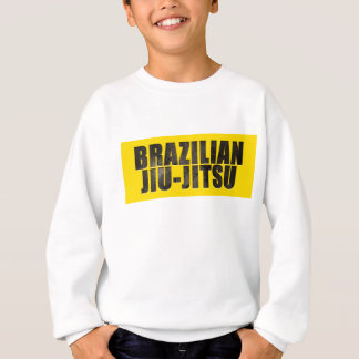 Brasiliansk Jiu-Jitsu mejslad text T-shirt