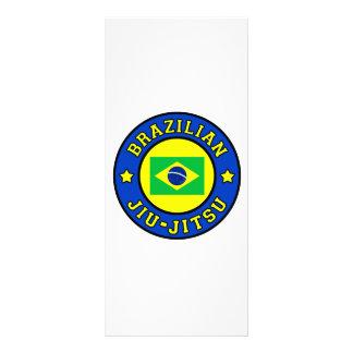 Brasiliansk Jiu-Jitsu rackcard Anpassade Rackkort