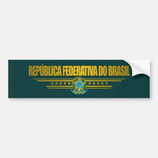 """""""Brasiliansk pride """", Bildekal"""
